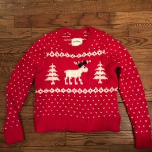 Abercrombie & Fitch Christmas / ski sweater